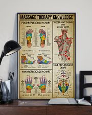 Massage Therapy knowledge 11x17 Poster lifestyle-poster-2