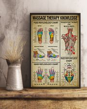 Massage Therapy knowledge 11x17 Poster lifestyle-poster-3