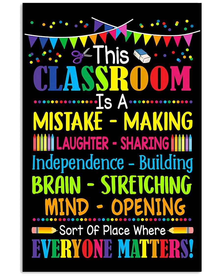 Teacher This Classroom 11x17 Poster