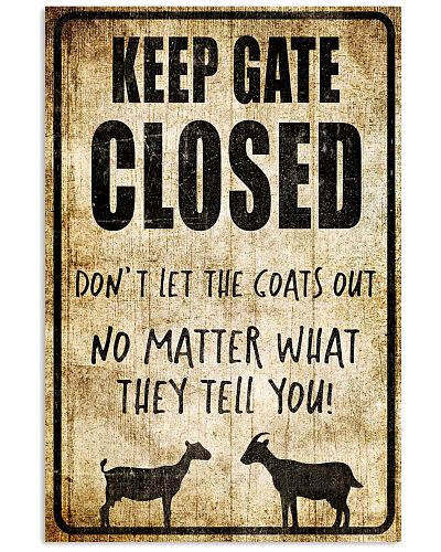 Farmer - Keep Gate Closed