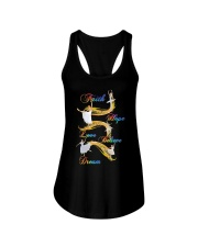 Ballet Faith Hope Love Believe Dream Ladies Flowy Tank thumbnail