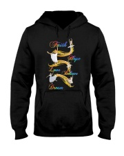 Ballet Faith Hope Love Believe Dream Hooded Sweatshirt thumbnail