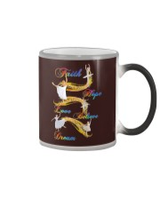 Ballet Faith Hope Love Believe Dream Color Changing Mug thumbnail