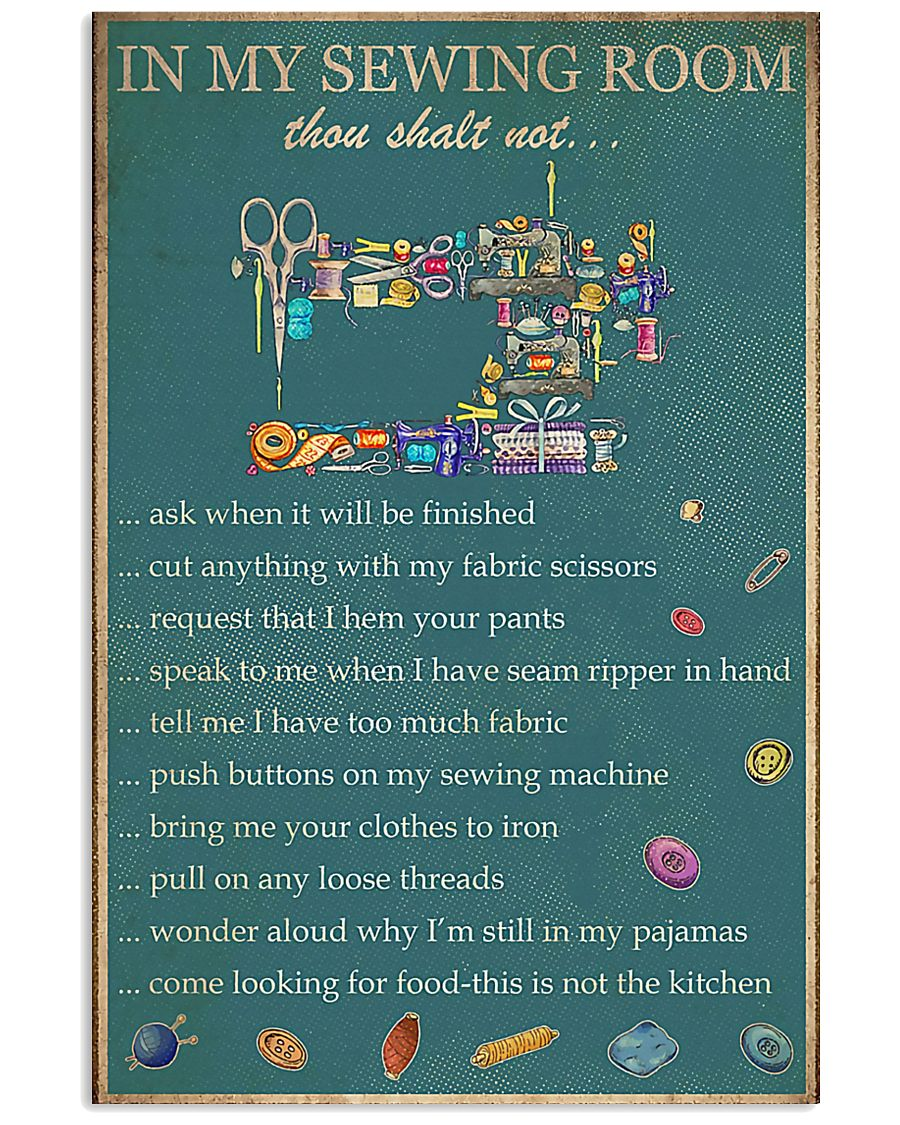 In My Sewing Room 11x17 Poster