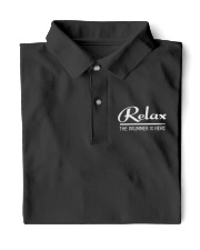 Relax the Drummer is here Classic Polo tile