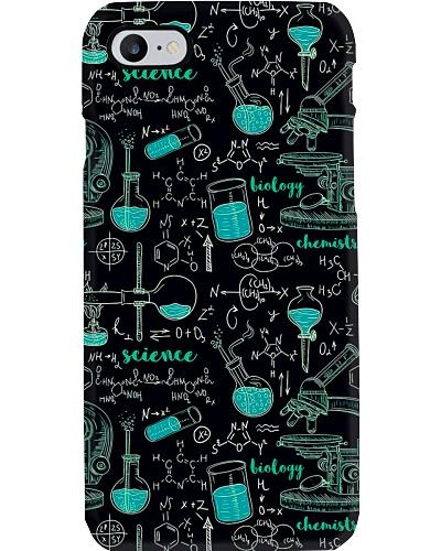 Scientist Green Phone case