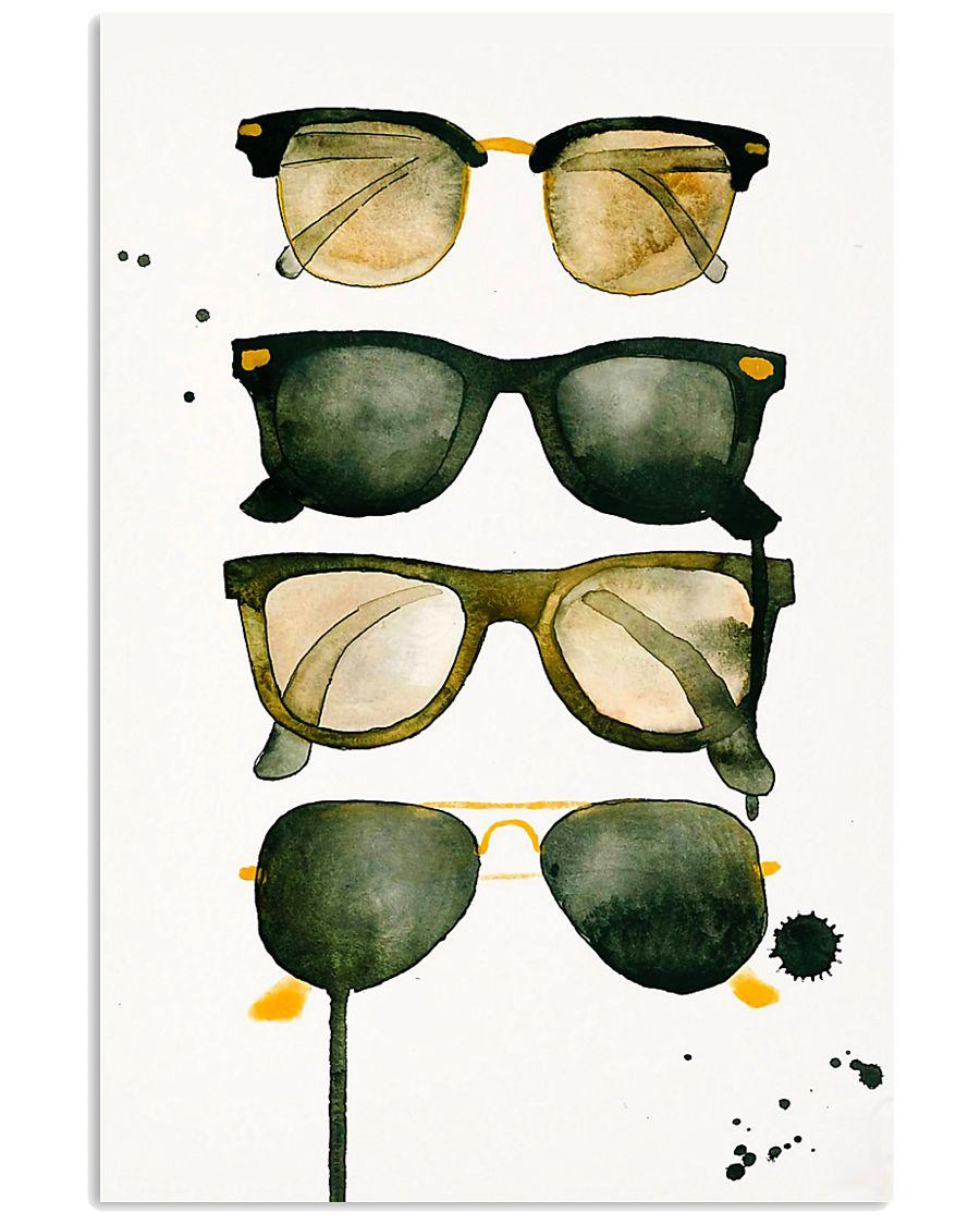 Optometrist Eye Glasses  11x17 Poster