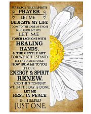 Massage Therapist's Prayer 11x17 Poster front
