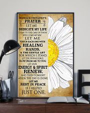Massage Therapist's Prayer 11x17 Poster lifestyle-poster-2