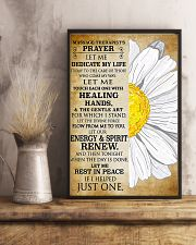 Massage Therapist's Prayer 11x17 Poster lifestyle-poster-3