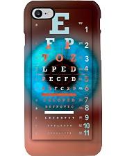 Optometrist Eye Chart With Eye Phone Case i-phone-7-case