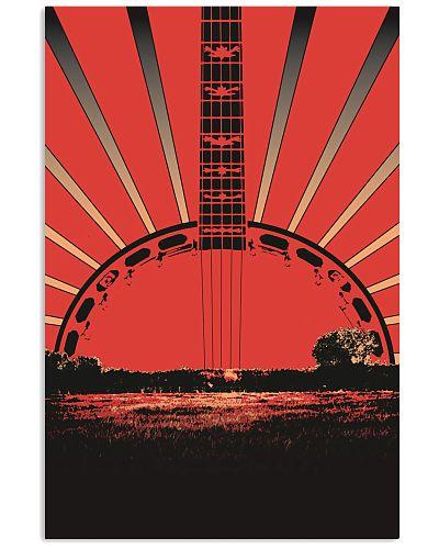 Sunset Banjo In The Field