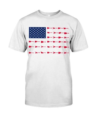 Guitar America Flag