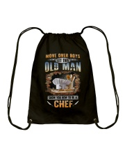 Let this old man show you how to be a Chef Drawstring Bag thumbnail