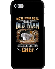 Let this old man show you how to be a Chef Phone Case thumbnail