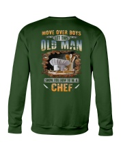 Let this old man show you how to be a Chef Crewneck Sweatshirt thumbnail