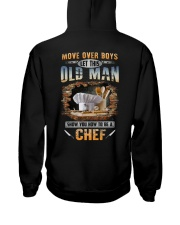 Let this old man show you how to be a Chef Hooded Sweatshirt thumbnail