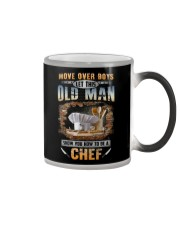 Let this old man show you how to be a Chef Color Changing Mug thumbnail