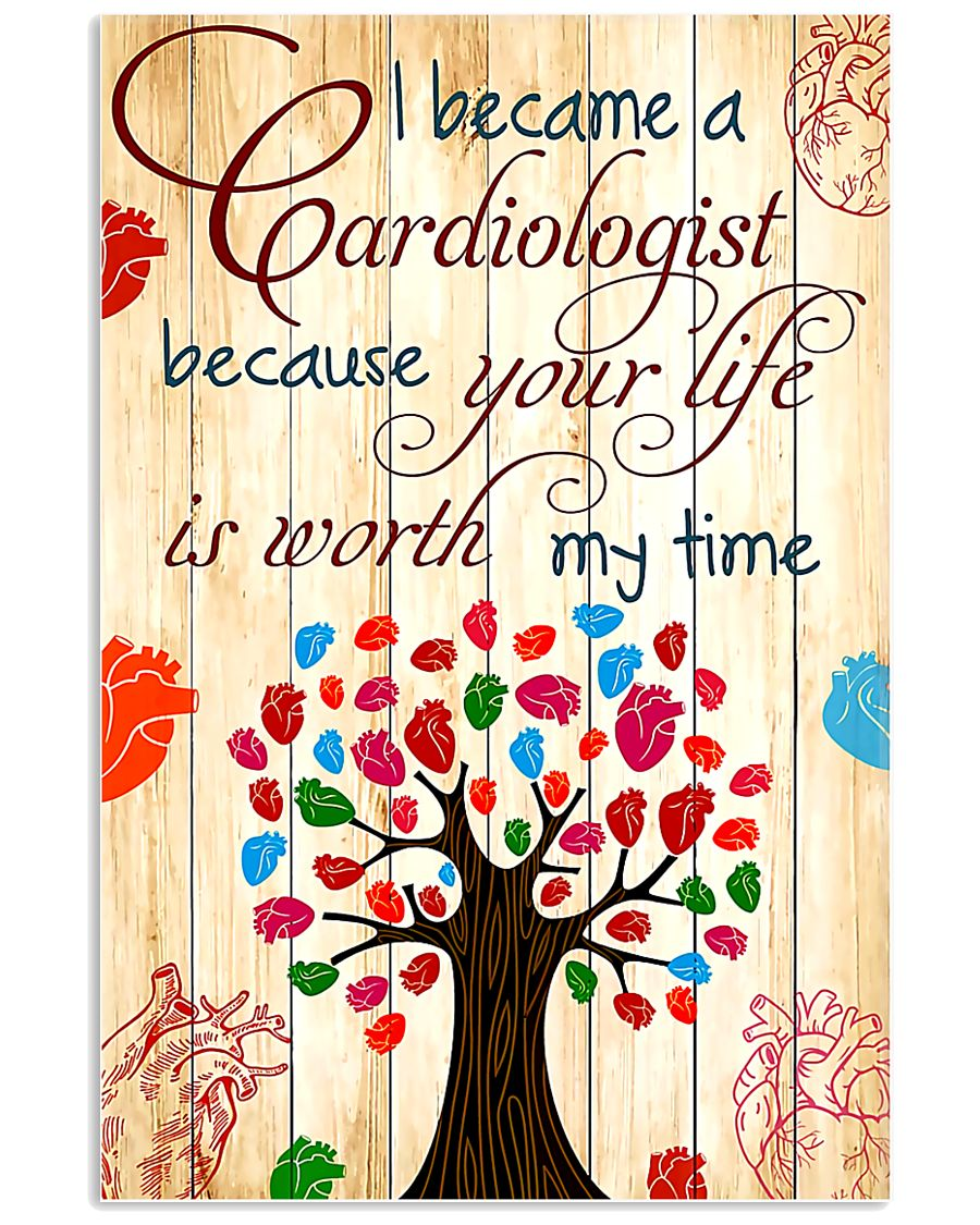 I Become A Cardiologist 11x17 Poster
