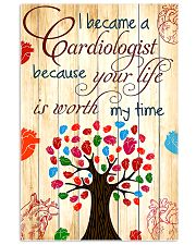 I Become A Cardiologist 11x17 Poster front