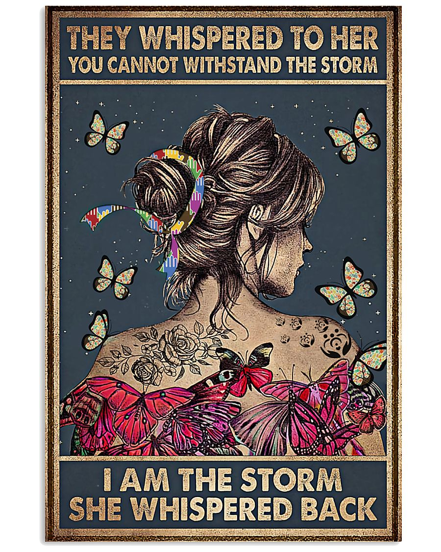 Social Worker I Am The Storm 11x17 Poster