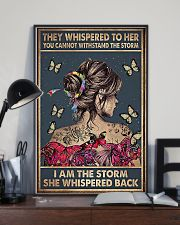 Social Worker I Am The Storm 11x17 Poster lifestyle-poster-2