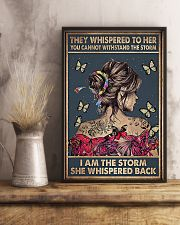 Social Worker I Am The Storm 11x17 Poster lifestyle-poster-3