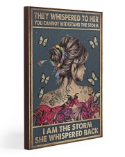 Social Worker I Am The Storm 20x30 Gallery Wrapped Canvas Prints thumbnail