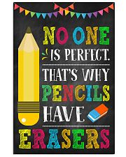 Teacher No One Is Perfect 11x17 Poster front