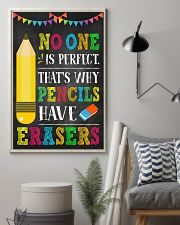 Teacher No One Is Perfect 11x17 Poster lifestyle-poster-1