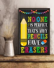 Teacher No One Is Perfect 11x17 Poster lifestyle-poster-3