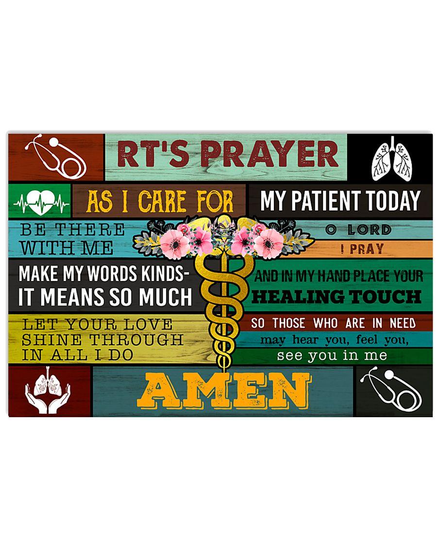 Respiratory Therapists' Prayer  17x11 Poster