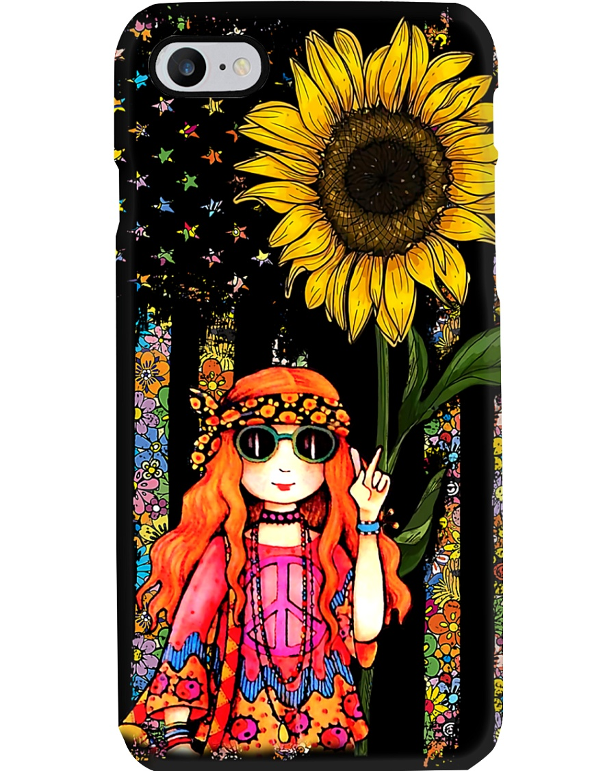 Redhead Sunflower Phone Case