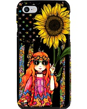 Redhead Sunflower Phone Case i-phone-7-case