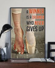 Ballet A Winner Who Never Gives Up 11x17 Poster lifestyle-poster-2