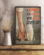 Ballet A Winner Who Never Gives Up 11x17 Poster lifestyle-poster-3