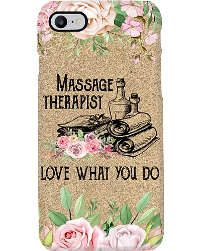 Massage Therapist Love What You Do
