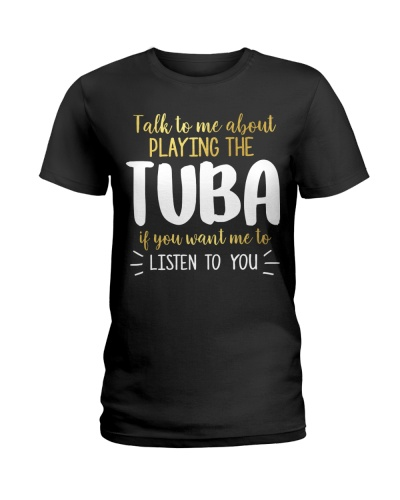 Talk To Me About Playing The Tuba
