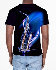 Saxophone with blue light All-over T-Shirt aos-all-over-T-shirt-lifestyle-back-02