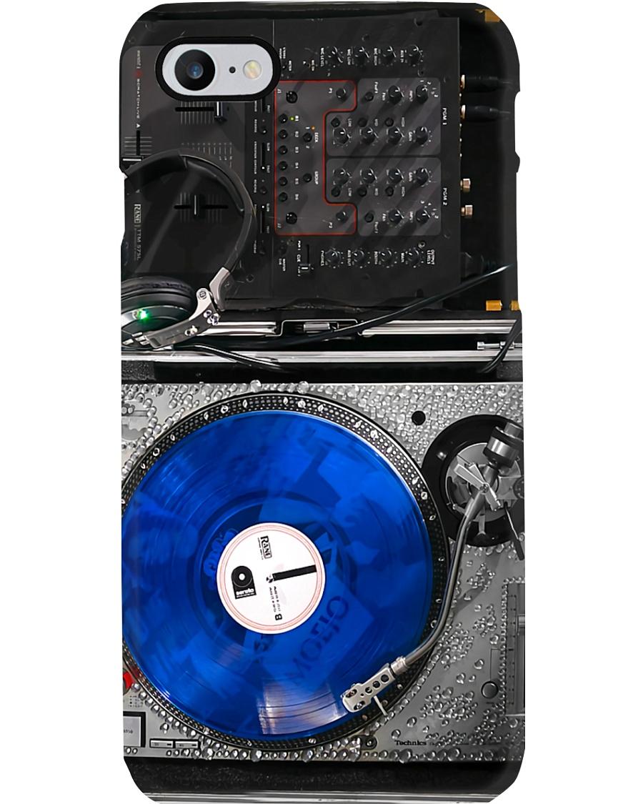 DJ Blue Mixing Phone Case
