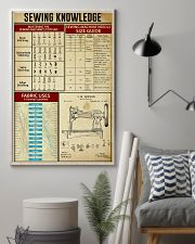 Sewing Knowledge Vintage Art Print  11x17 Poster lifestyle-poster-1