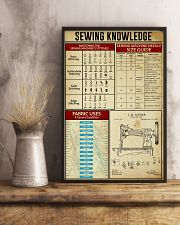Sewing Knowledge Vintage Art Print  11x17 Poster lifestyle-poster-3