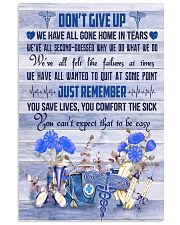 Respiratory Therapist Dont Give Up  11x17 Poster front