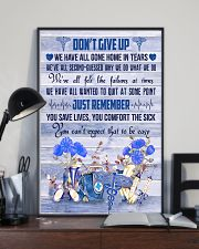 Respiratory Therapist Dont Give Up  11x17 Poster lifestyle-poster-2