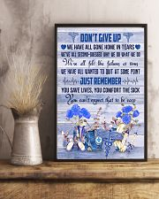 Respiratory Therapist Dont Give Up  11x17 Poster lifestyle-poster-3