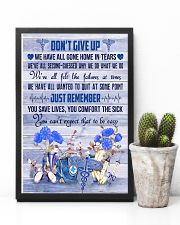 Respiratory Therapist Dont Give Up  11x17 Poster lifestyle-poster-8