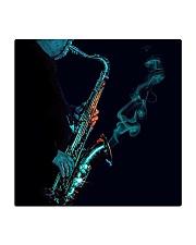 Saxophone Saxophonist Unique Gift Square Coaster thumbnail