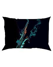 Saxophone Saxophonist Unique Gift Rectangular Pillowcase thumbnail