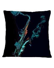 Saxophone Saxophonist Unique Gift Square Pillowcase thumbnail