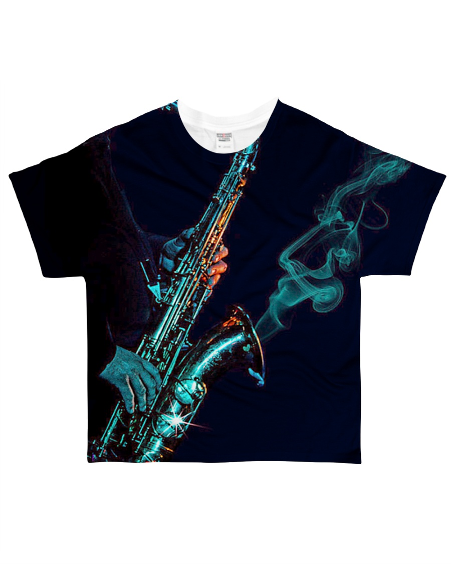 Saxophone Saxophonist Unique Gift All-over T-Shirt